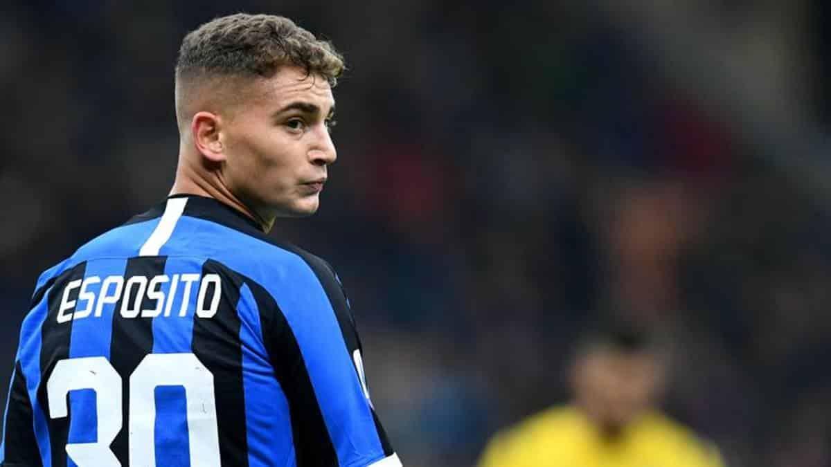 Sebastiano Esposito, attaccante della Spal, in prestito dall'Inter