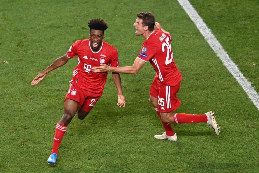 Coman, PSG-Bayern Monaco