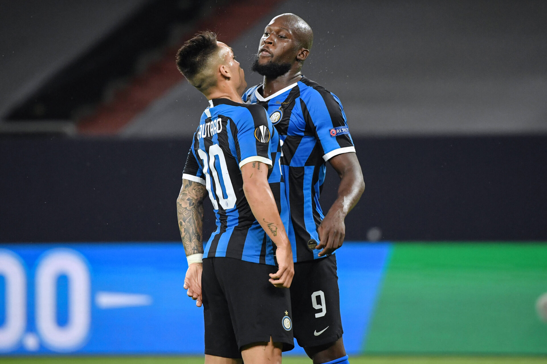 Lukaku e Lautaro Martinez, giocatori dell'Inter (foto by @imagephotoagency)