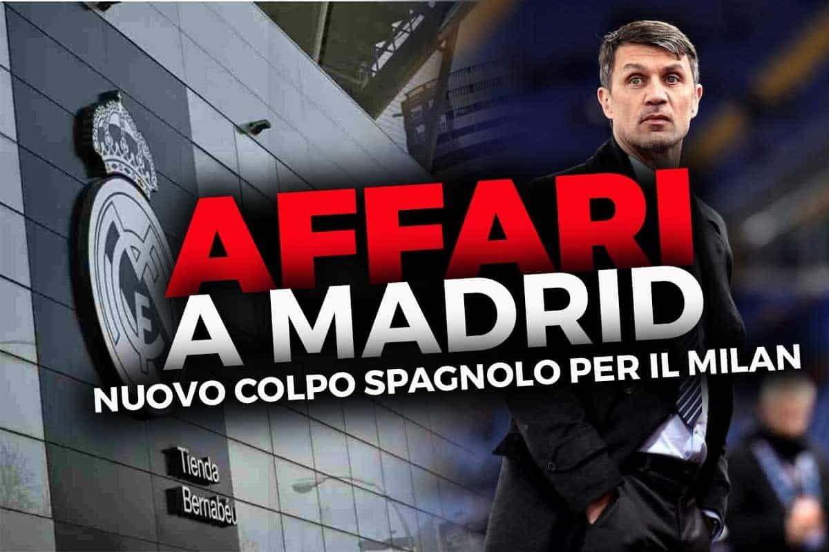 Calciomercato Milan: Maldini bussa, Madrid risponde
