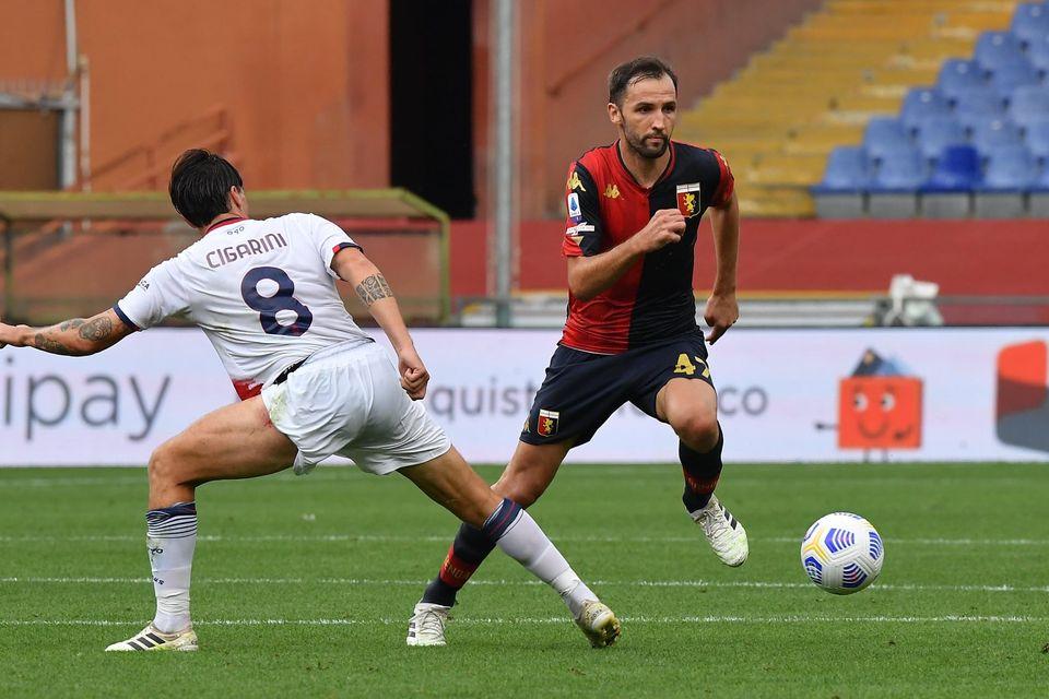 Badelj, giocatore del Genoa