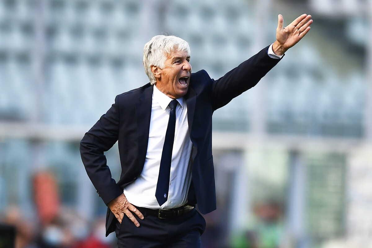 Gian Piero Gasperini, allenatore dell'Atalanta @imagephotoagency