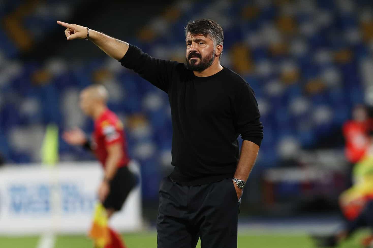 Gennaro Gattuso, allenatore del Napoli @imagephotoagency