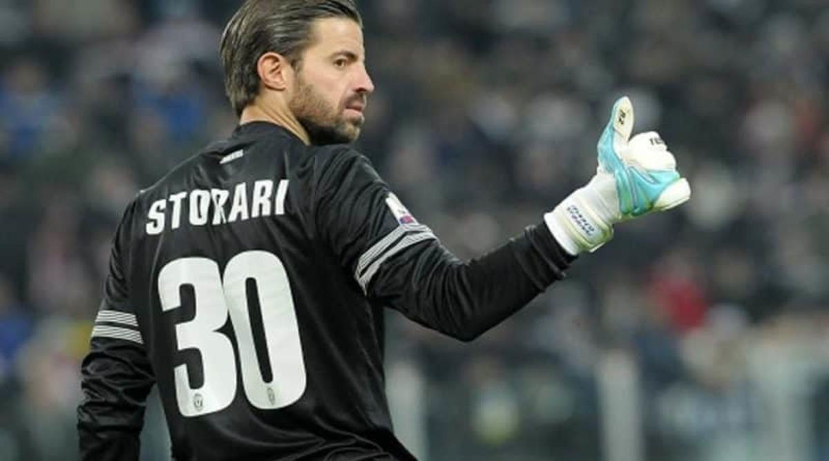 Marco Storari, ex portiere e nuovo dirigente della Juventus