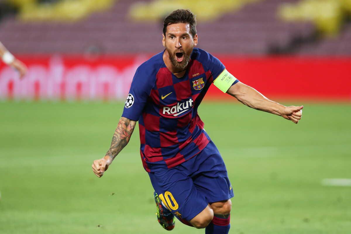 Lionel Messi, attaccante del Barcellona @imagephotoagency
