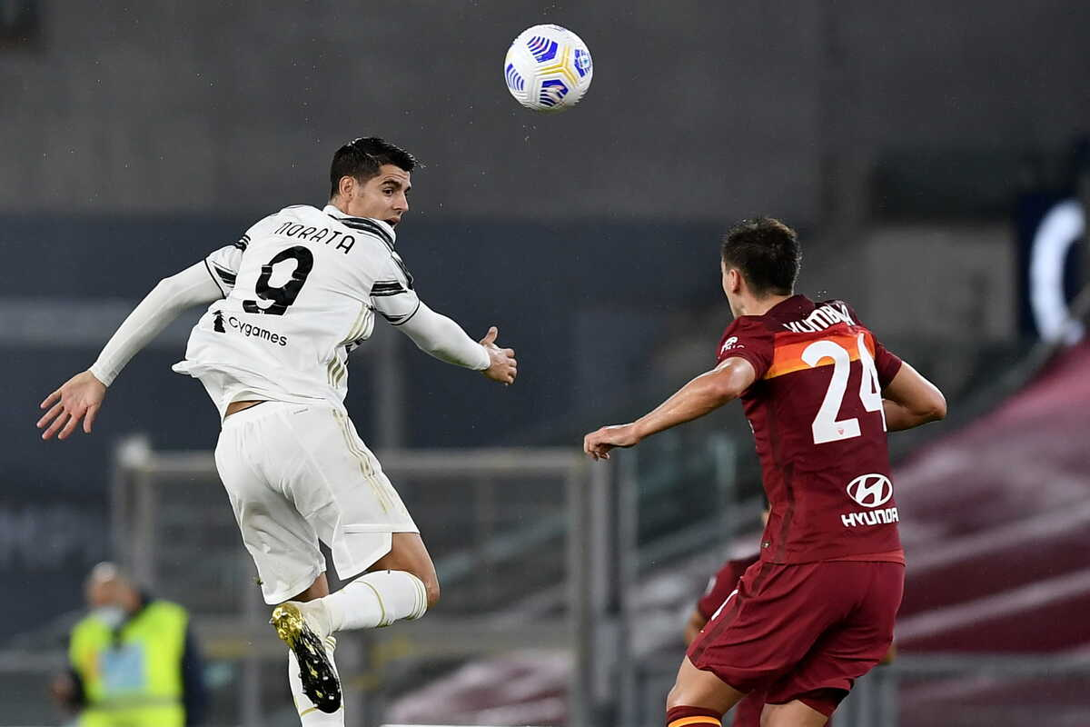 Alvaro Morata, attaccante della Juventus @imagephotoagency