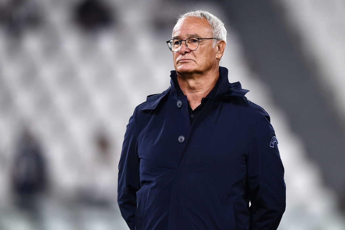 Claudio Ranieri tecnico della Sampdoria