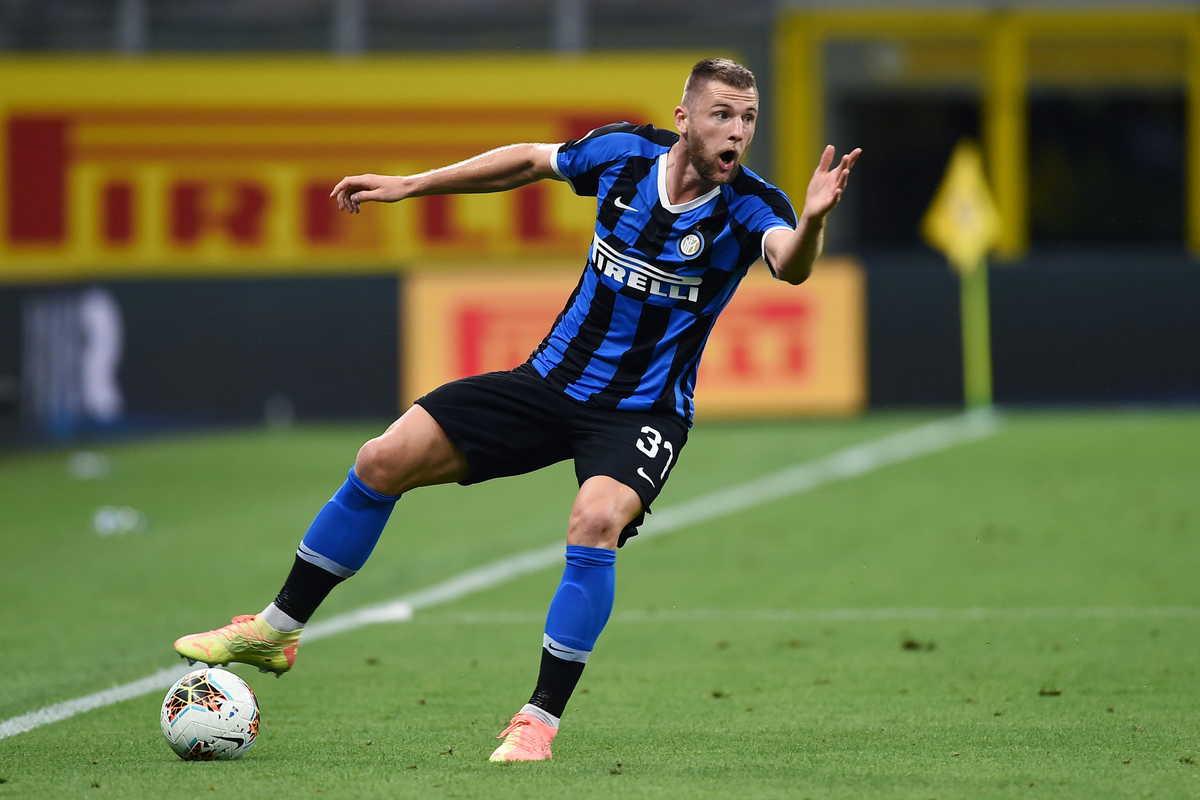 Milan Skriniar, difensore dell'Inter @imagephotoagency