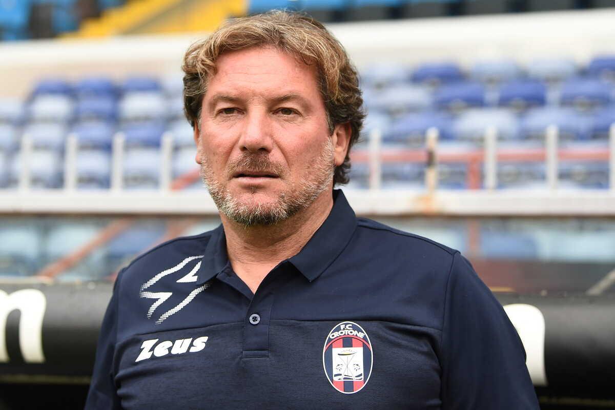 Giovanni Stroppa, allenatore del Crotone @imagephotoagency
