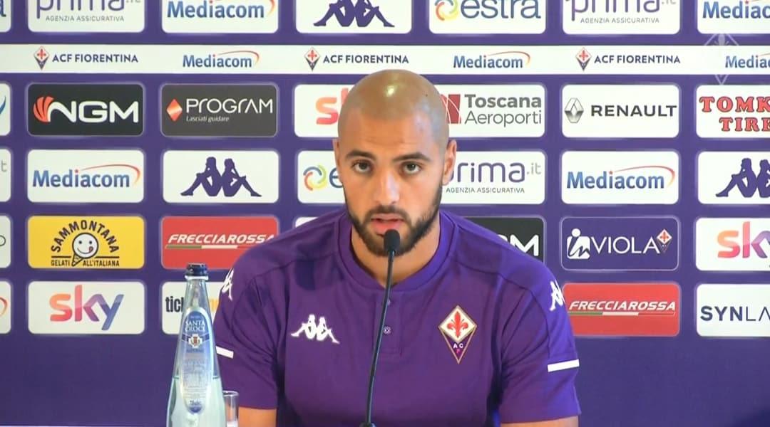 Sofyan Amrabat, centrocampista della Fiorentina
