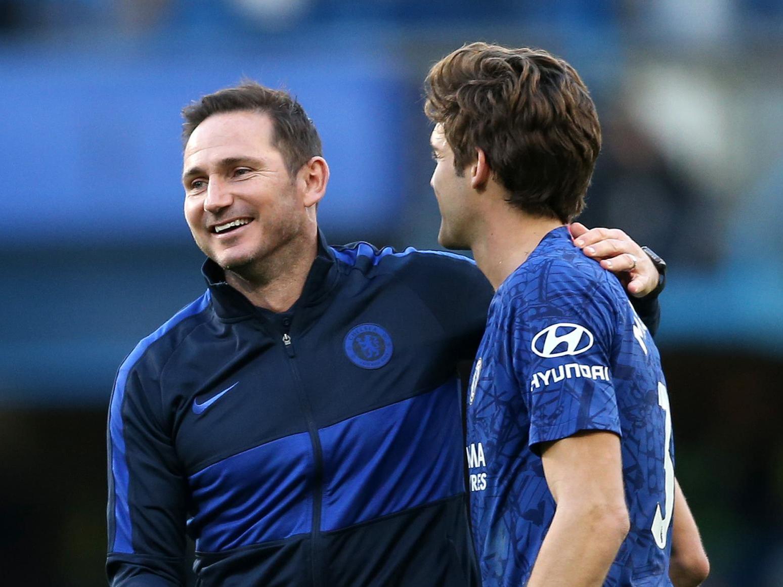 Alonso e Lampard (Chelsea)