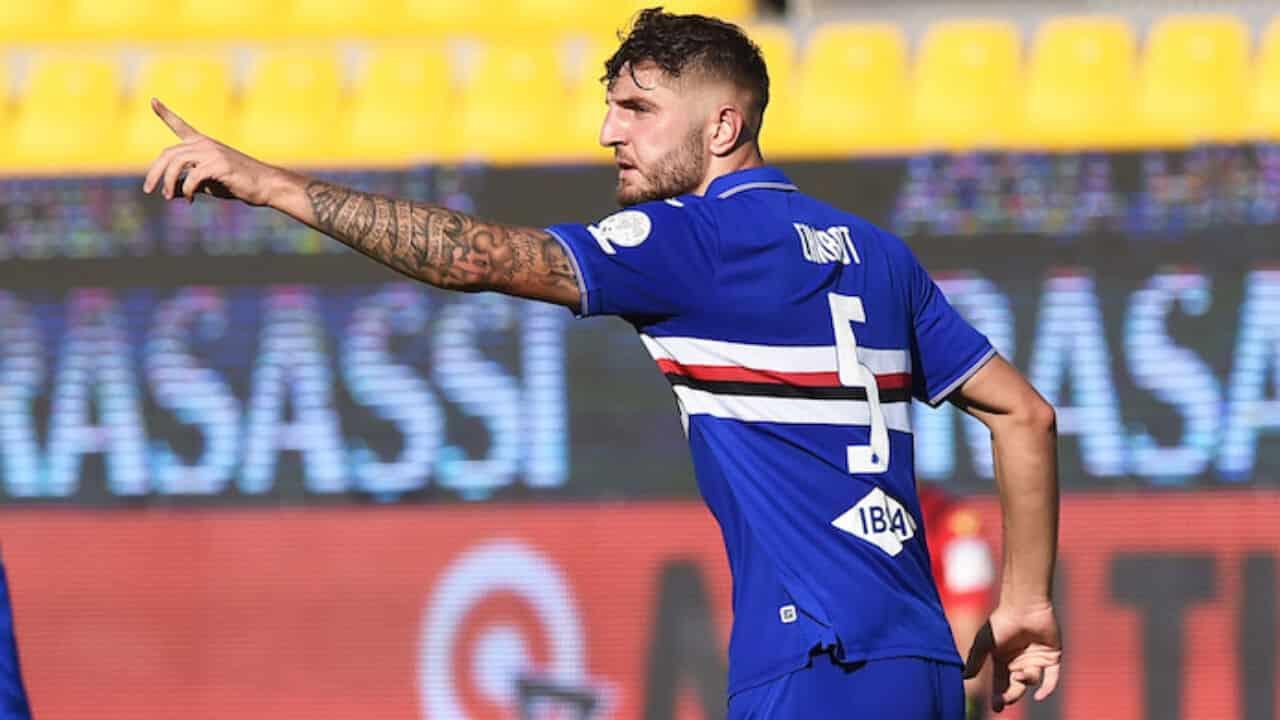 Julian Chabot della Sampdoria