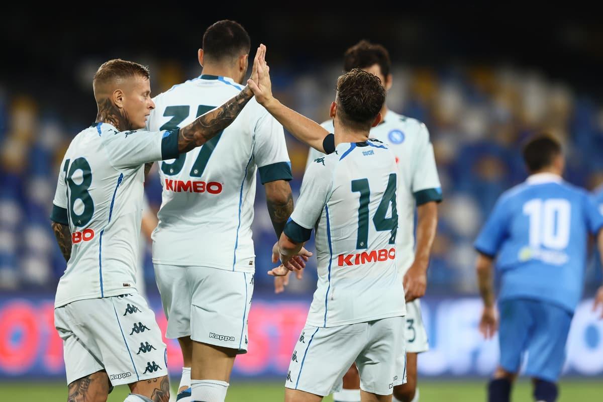 Serie A, Napoli batte 4-0 il Pescara in amichevole: oggi in campo Milan, Roma e Lazio (foto by @imagephotoagency)