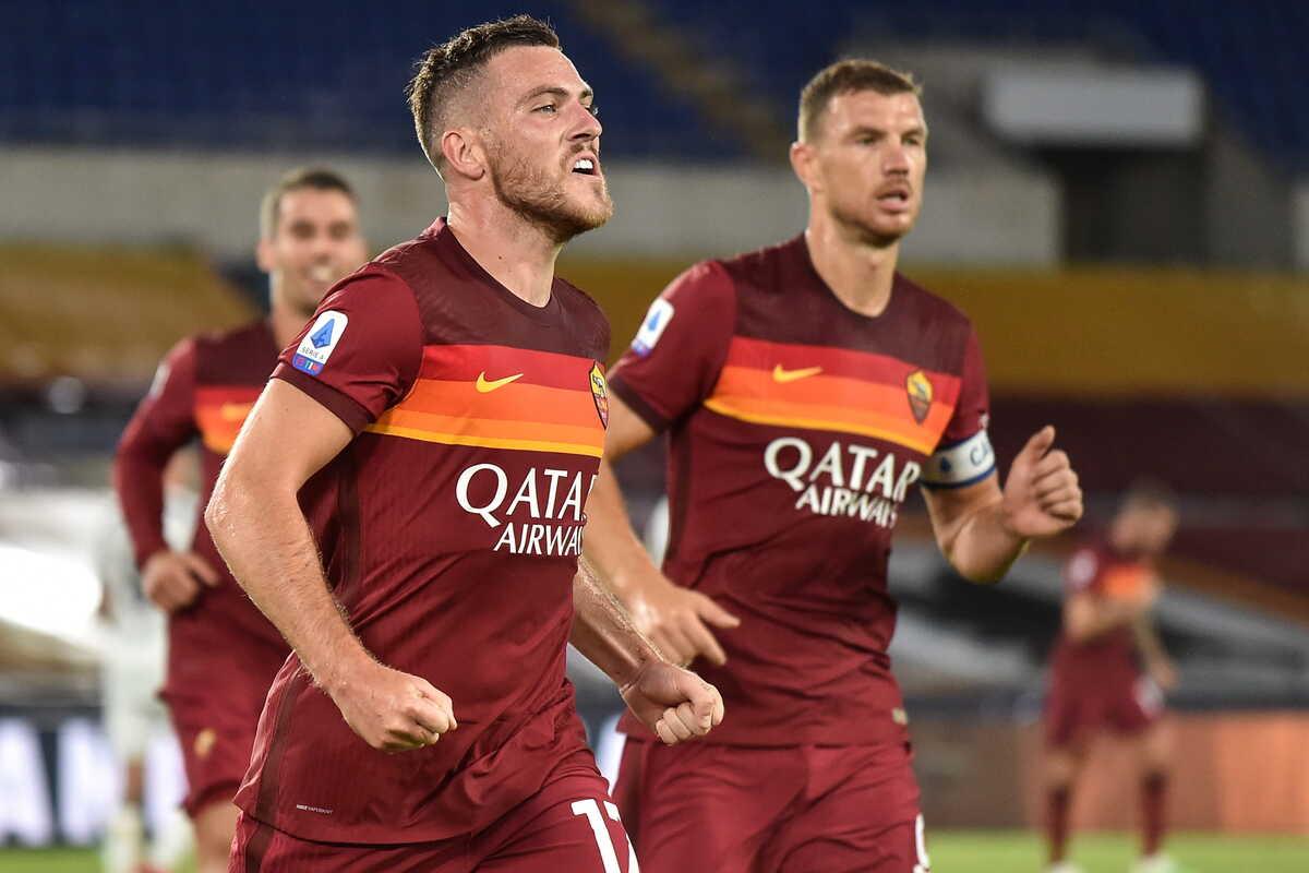 Jordan Veretout, centrocampista della Roma @imagephotoagency