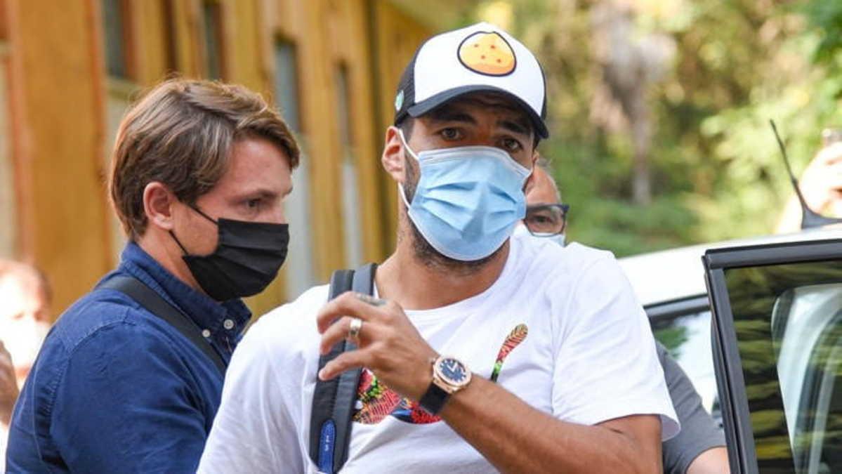 Luis Suarez, attaccante dell'Atletico Madrid