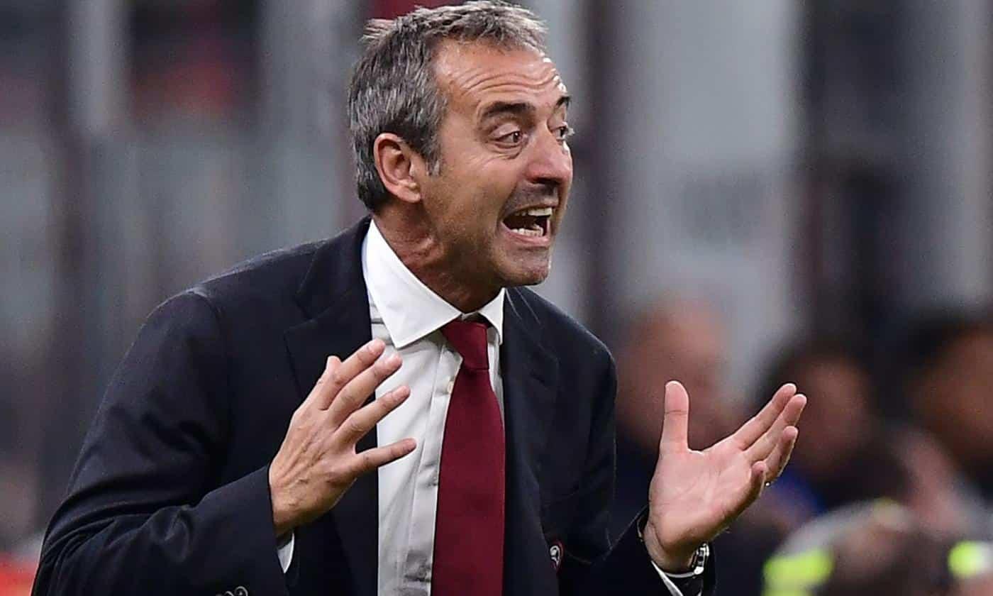Marco Giampaolo, tecnico del Torino
