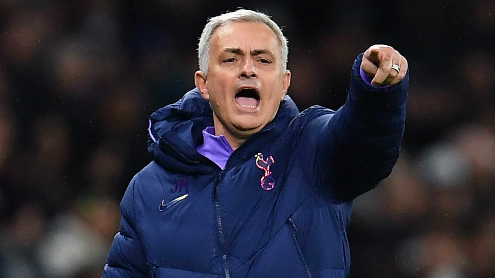 Jose Mourinho, tecnico del Tottenham