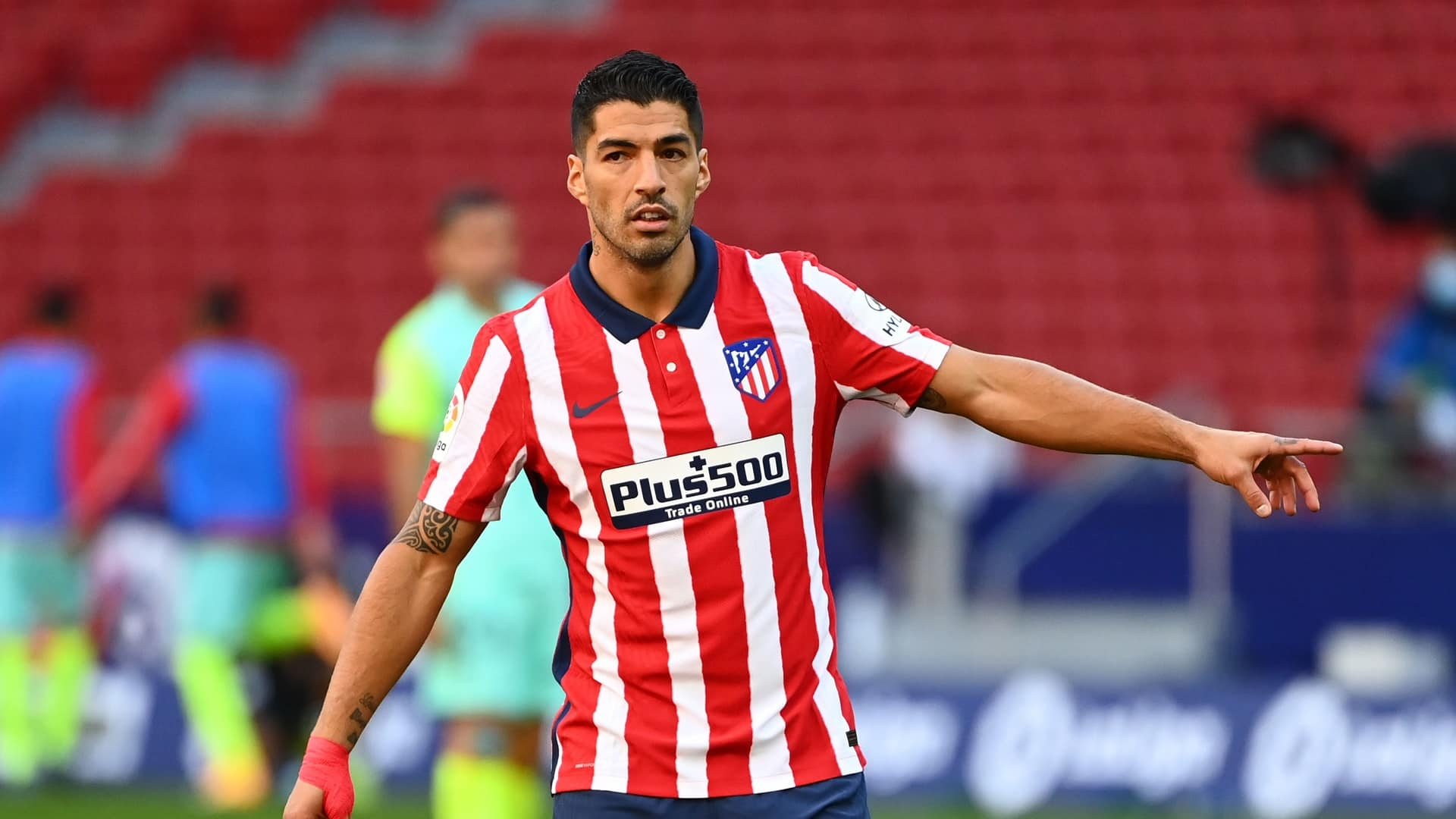 Luis Suarez attaccante dell'Atletico Madrid