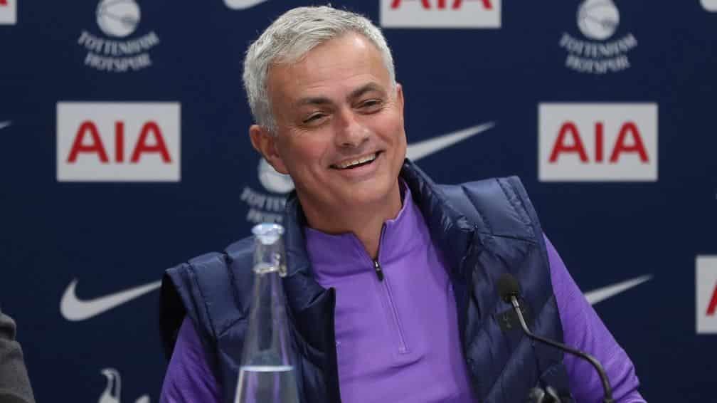 José Mourinho, tecnico del Tottenham
