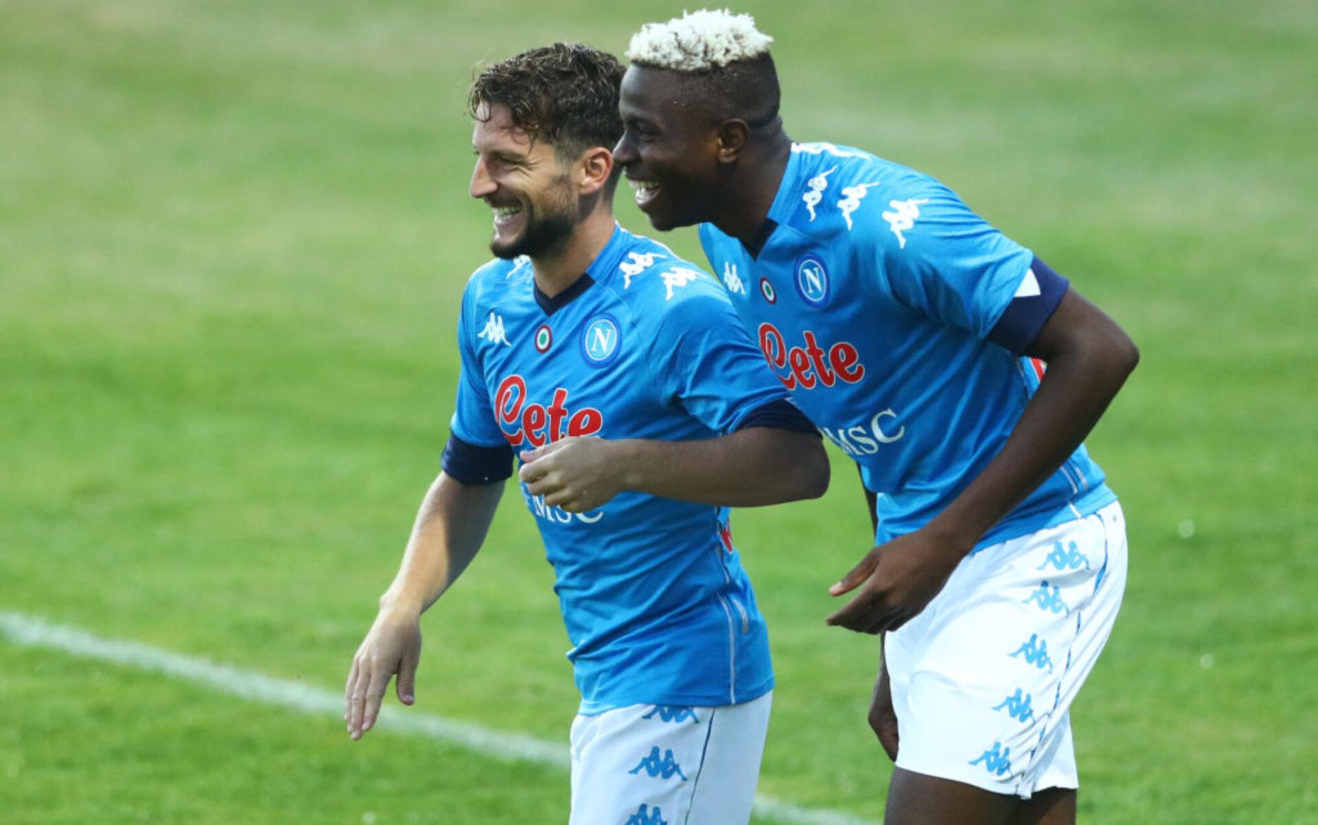 Victor Osimhen, attaccante del Napoli