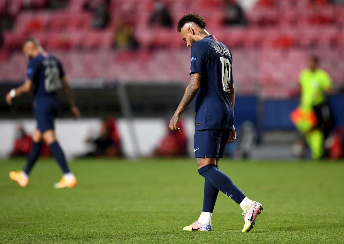 Neymar, attaccante del Psg