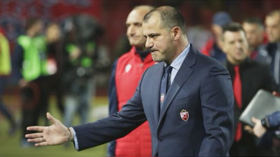 Dejan Stankovic, ex Inter e Lazio, allenatore della Stella Rossa