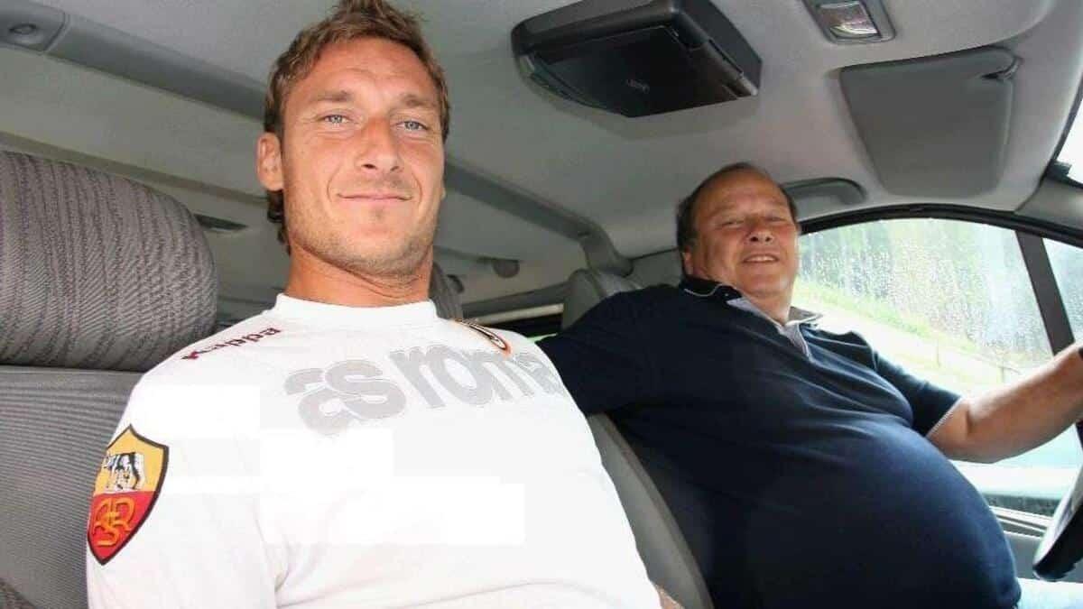 Roma, grave lutto per Totti: è morto il papà Enzo