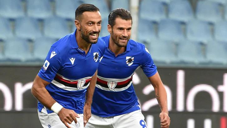 Fabio Quagliarella e Antonio Candreva (Sampdoria)