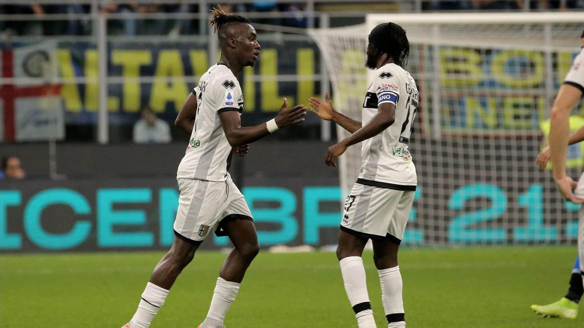 Gervinho, attaccante del Parma @imagephotoagency