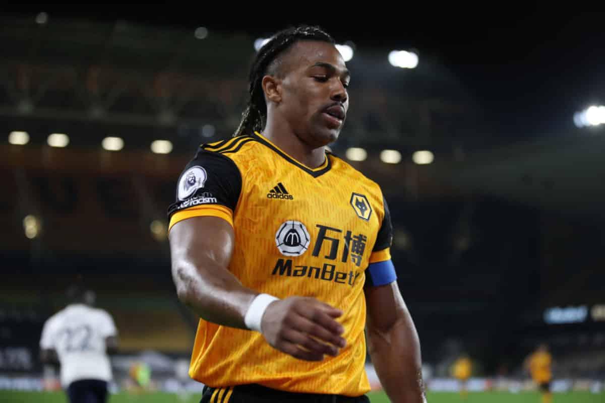 Adama Traorè, attaccante del Wolverhampton
