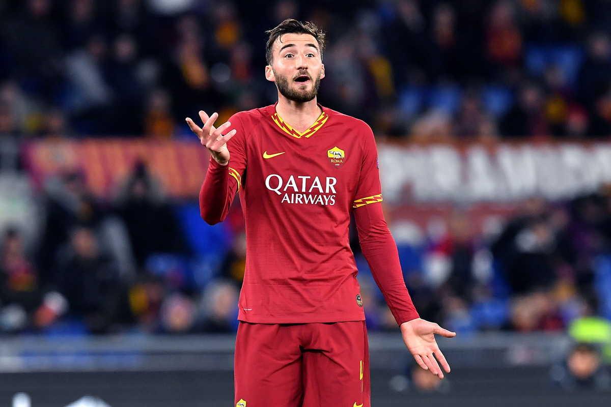 Bryan Cristante, centrocampista della Roma @imagephotoagency