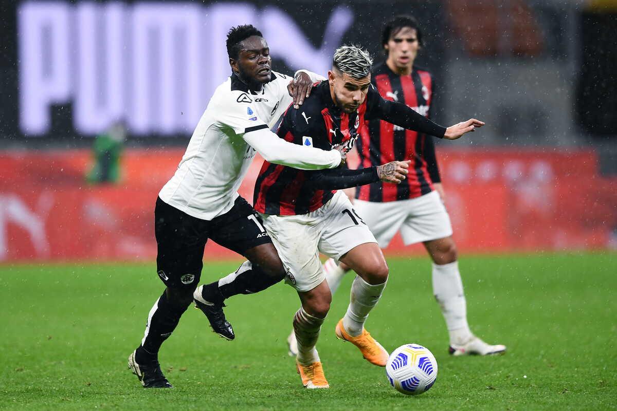 Theo Hernandez, difensore del Milan @imagephotoagency