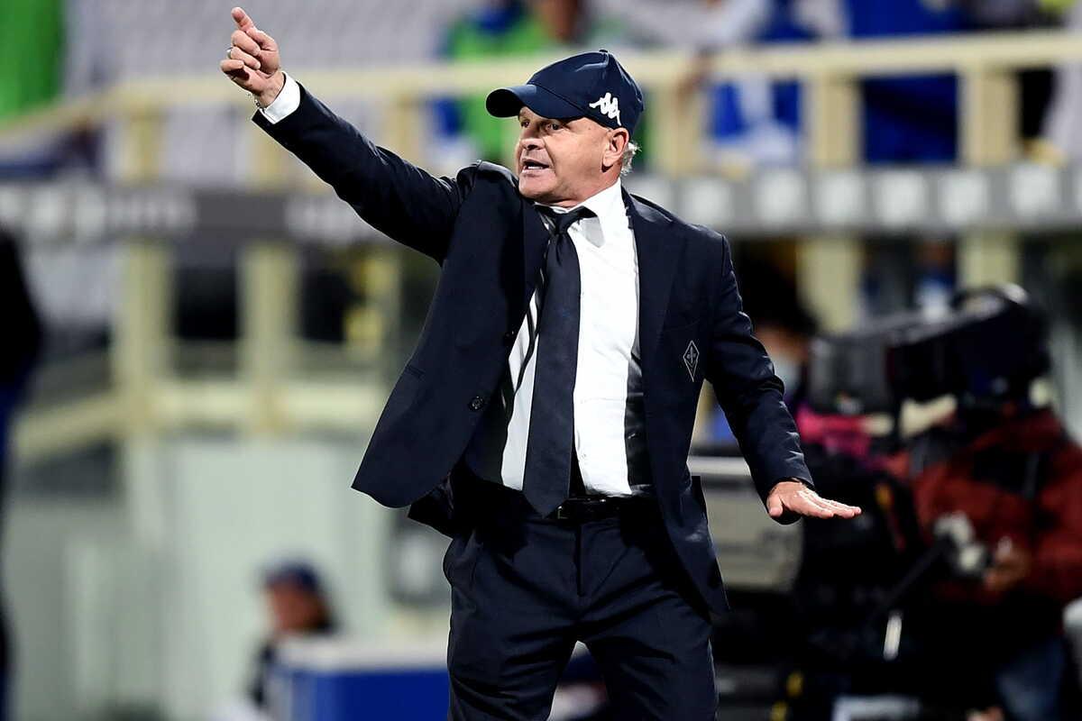 Beppe Iachini, allenatore della Fiorentina @imagephotoagency