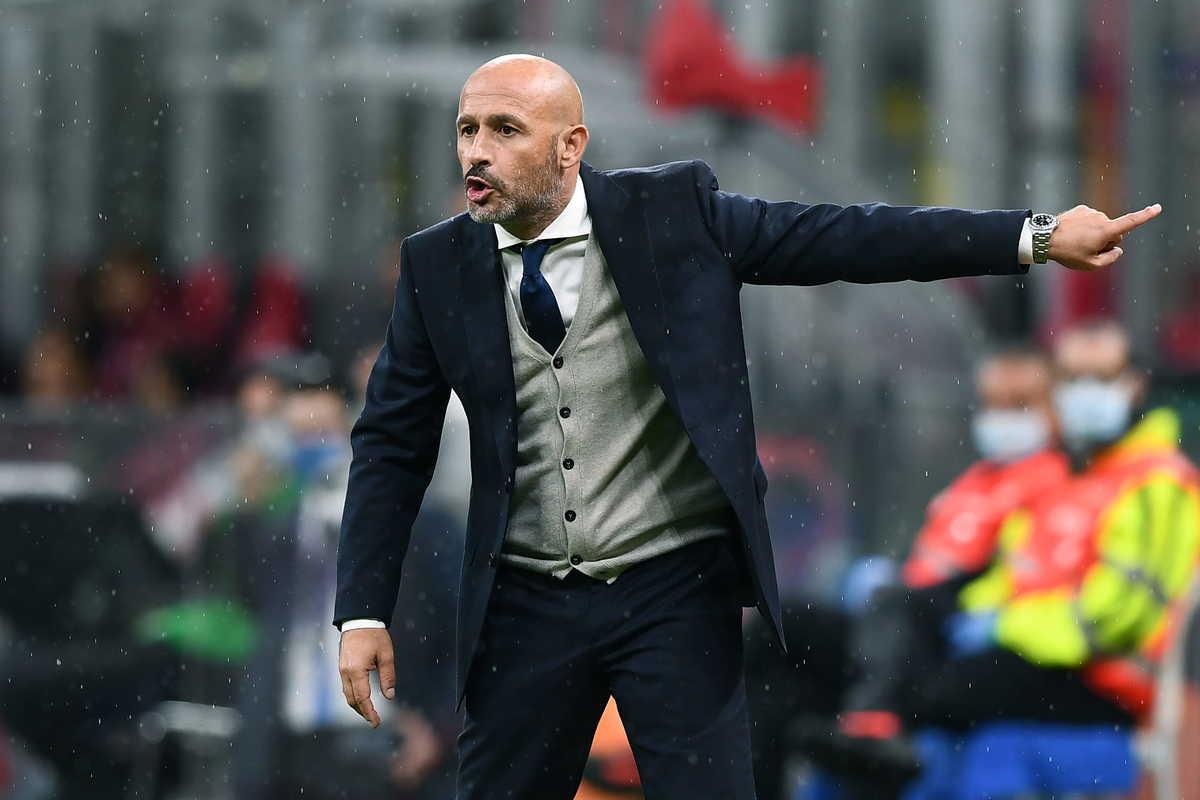 Vincenzo Italiano, allenatore dello Spezia @Image Sport