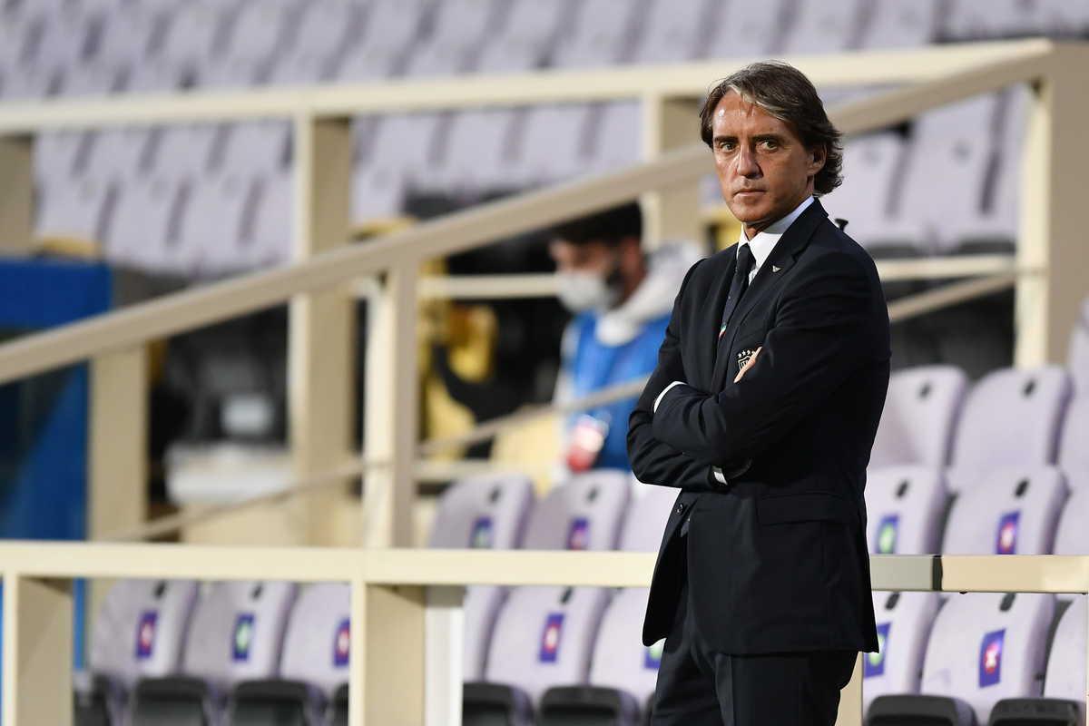 Roberto Mancini, allenatore della Nazionale
