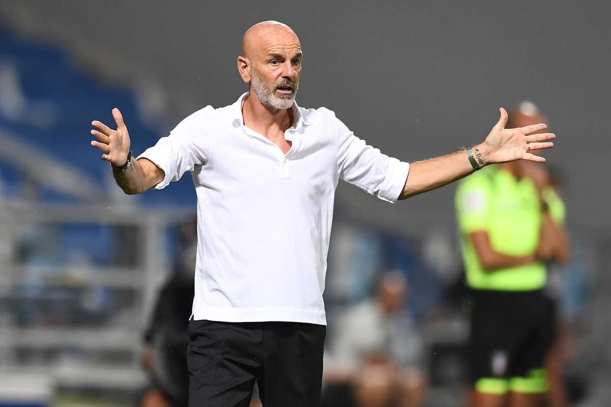 Stefano Pioli, allenatore del Milan @imagephotoagency