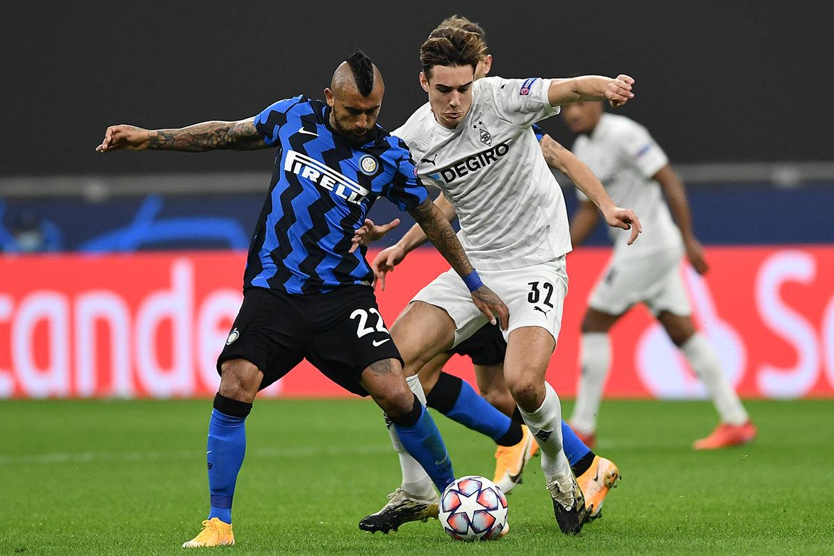 Vidal centrocampista Inter