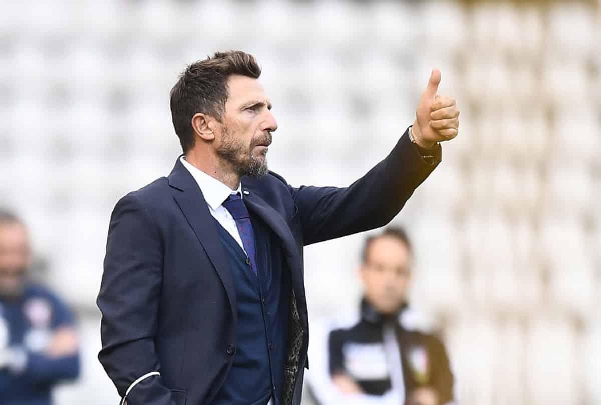 Eusebio Di Francesco, allenatore del Cagliari @imagephotoagency
