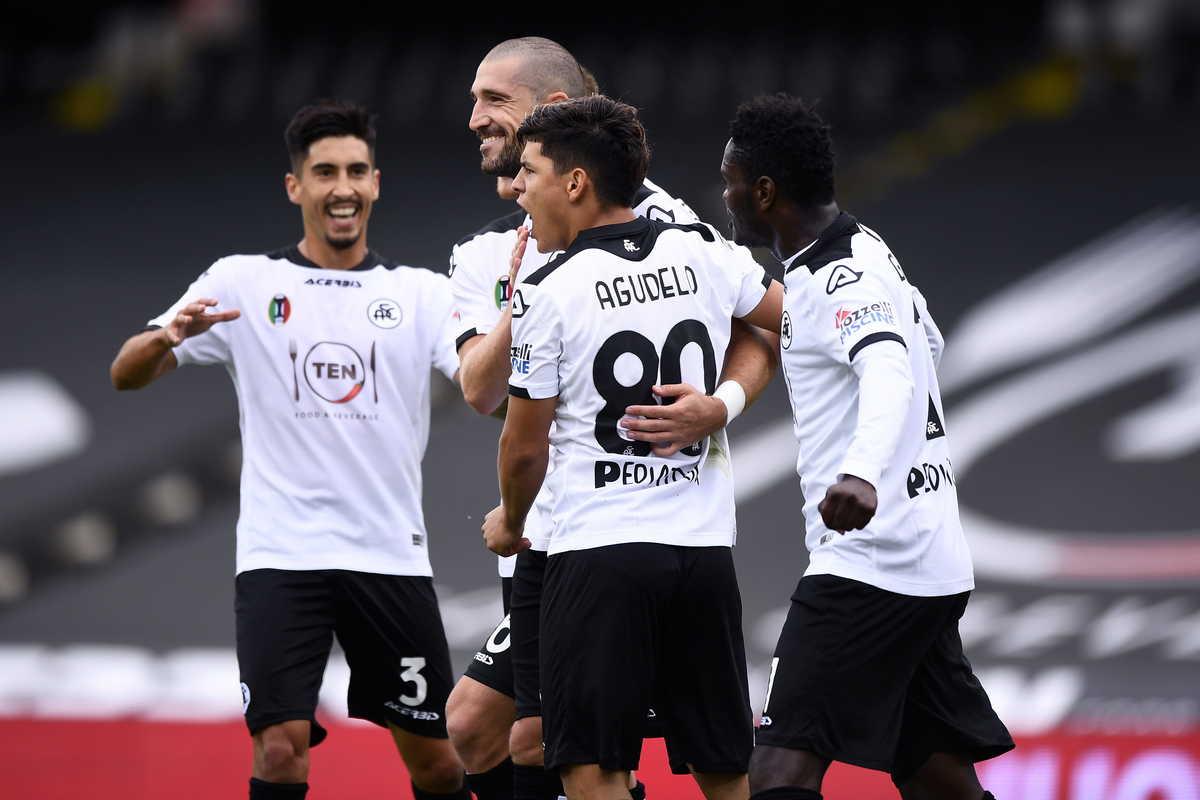 Spezia-Fiorentina 2-2: i liguri pareggiano nel finale