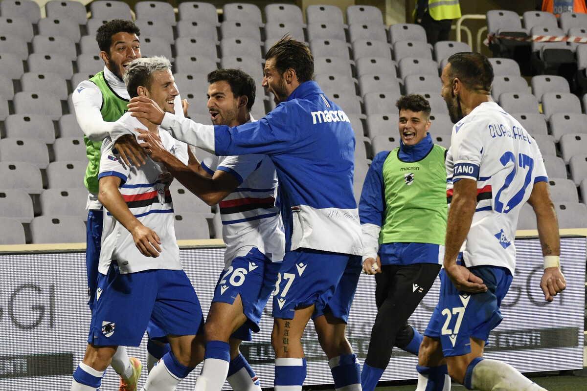 Esultanza Sampdoria @imagephotoagency