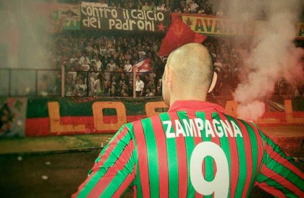 Riccardo Zampagna, ex attaccante di Ternana, Messina, Atalanta e Vicenza