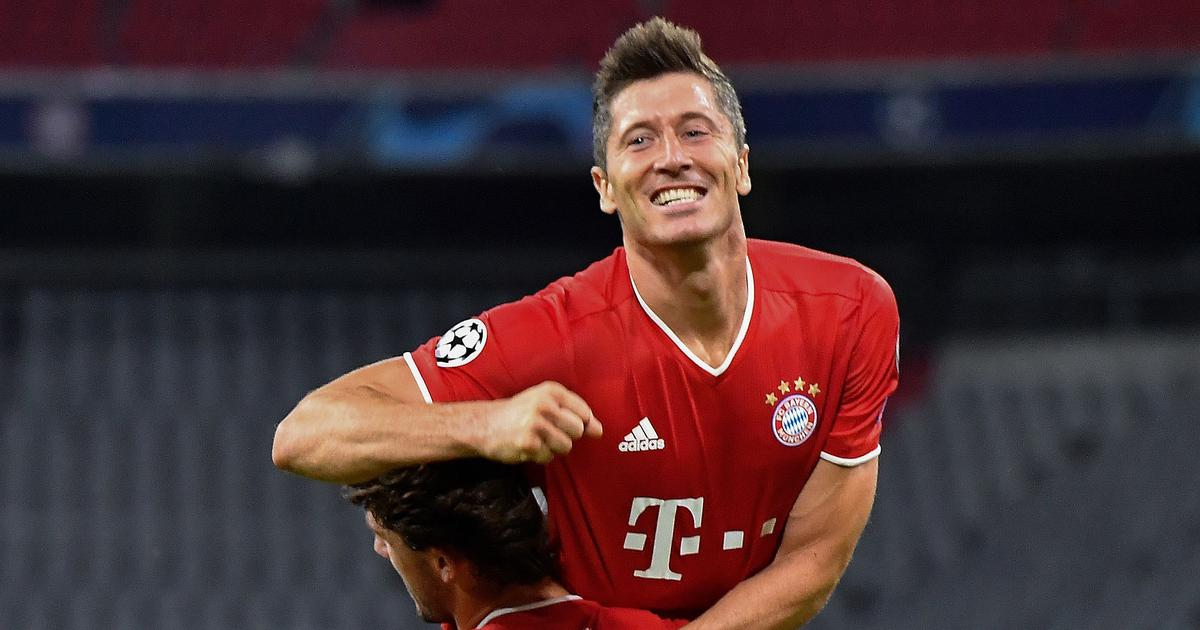 Robert Lewandowski, attaccante del Bayern Monaco