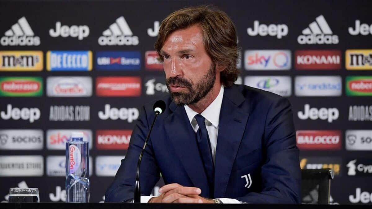 Andrea Pirlo, nuovo allenatore della Juventus
