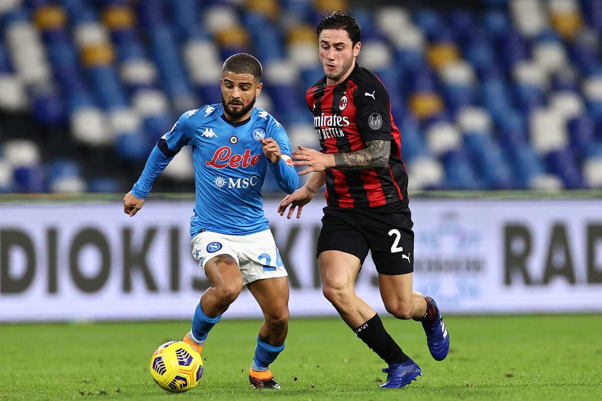 Lorenzo Insigne, attaccante e capitano del Napoli @imagephotoagency
