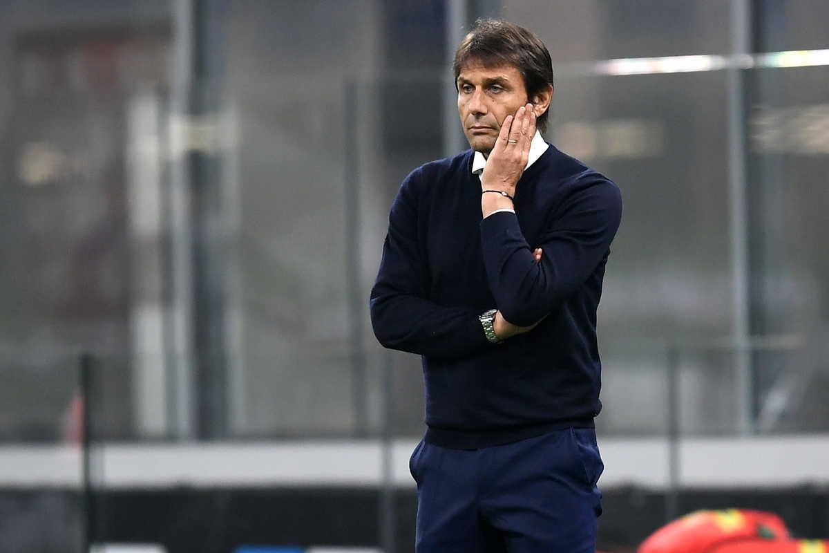 Antonio Conte, allenatore dell'Inter @imagephotoagency