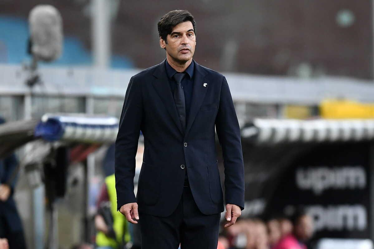 Paulo Fonseca, allenatore della Roma @imagephotoagency