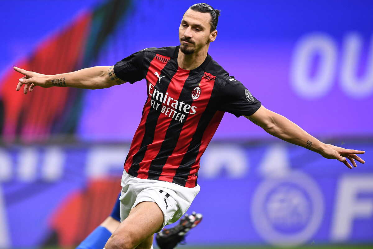 Zlatan Ibrahimovic, attaccante del Milan @Image Sport