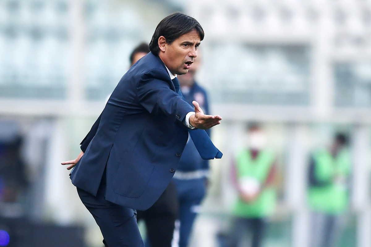 Simone Inzaghi, allenatore della Lazio @imagephotoagency