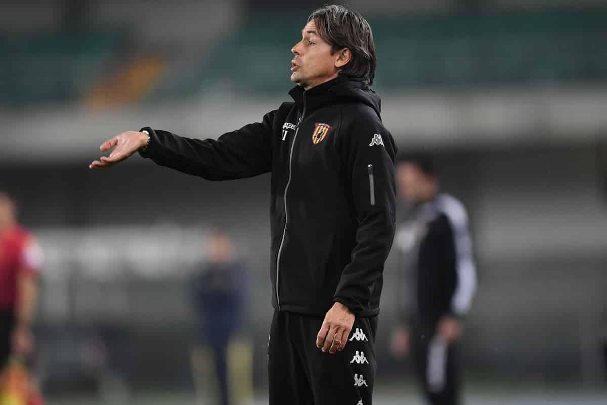 Filippo Inzaghi, allenatore del Benevento @imagephotoagency