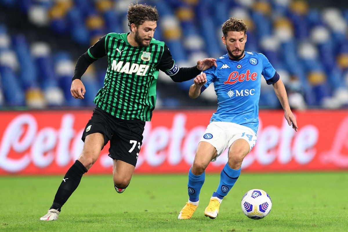 Manuel Locatelli, centrocampista del Sassuolo @imagephotoagency